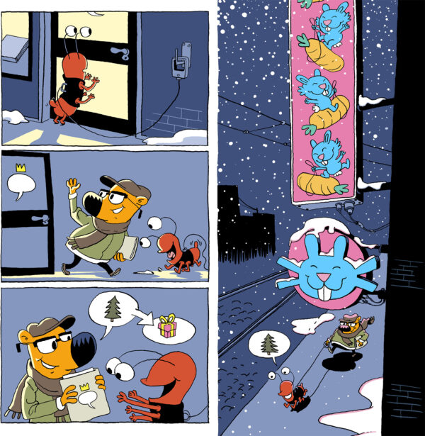 Beetle and Bear Peter Hermann Danish Comics Foreign Rights