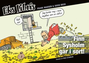 Eks Libris Frank Madsen Sussi Bech Danish Comics Foreign Rights