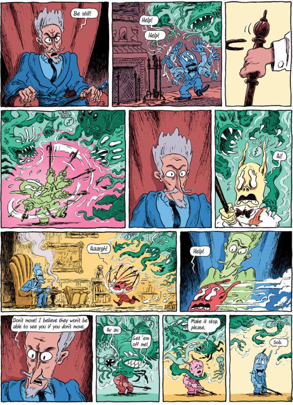 Homunculus Benni Bødker Rune Ryberg Danish Comics Foreign Rights