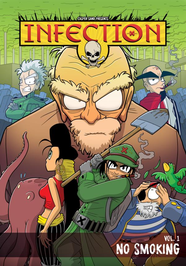 Infection Casper Sand Danish Comics Foreign Rights