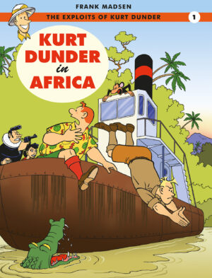 Kurt Dunder Frank Madsen Danish Comics Foreign Rights