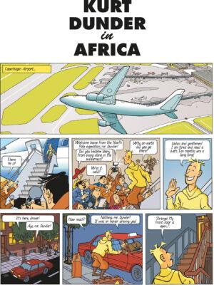 Kurt Dunder Frank Madsen Danish Comics Foreign Rights