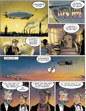 Mortensens escapades Lars Jakobsen Danish Comics Foreign Rights