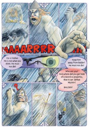 Nannas Dream Karsten Mungo Madsen Danish Comics Foreign Rights