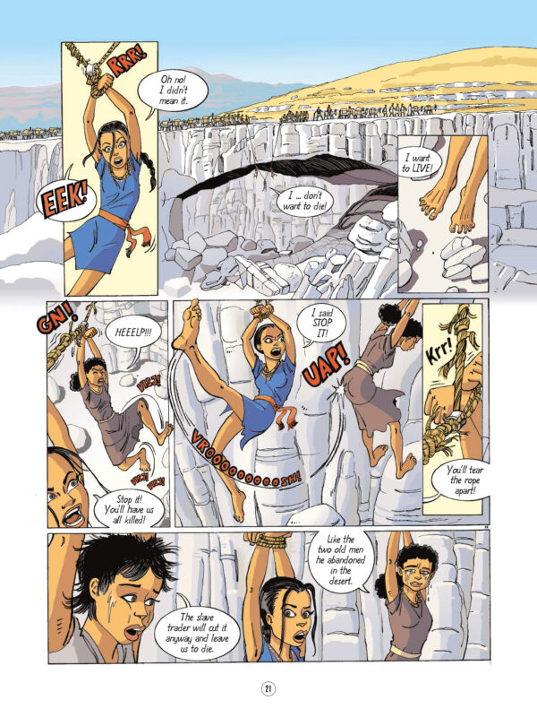 Nofret Slave in the Levant Sussi Bech Danish Comics Foreign Rights