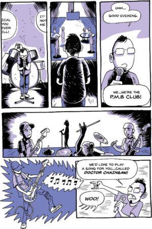Punk Life Crisis Simon Petersen Danish Comics Foreign Rights